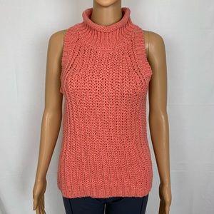 🦄 Moth Anthropologie Sleeveless Sweater Knit Med